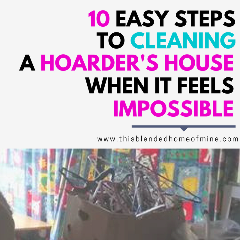How To Clean Bathroom Wall Stains: How To Clean A Hoarder's House When It Feels Impossible