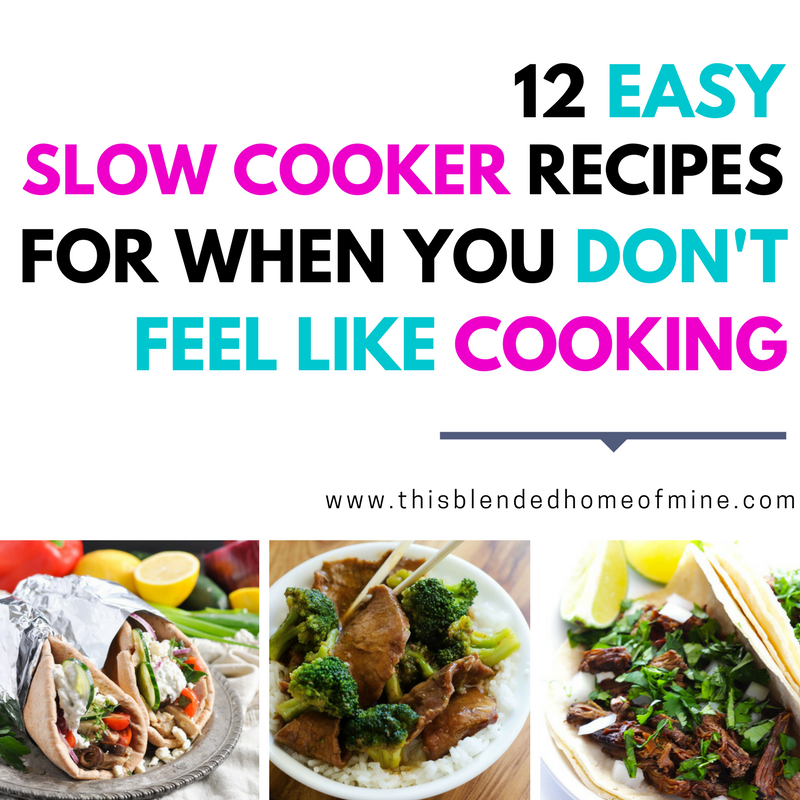 12 Easy Slow Cooker Recipes For Busy Weeknight Family